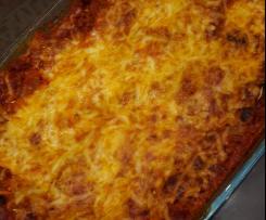 Variation weltbeste Lasagne ohne Bechamelsoße
