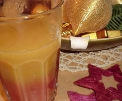 WINTER SUNRISE ~ Cocktail / Punsch für die Silvesterparty ~ mit und ohne Prozente