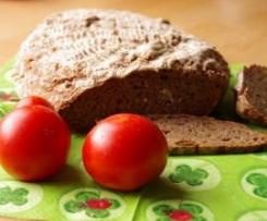 Brot ohne viel Kneten,