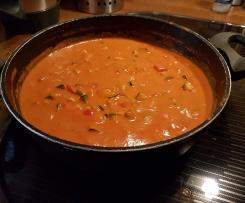 Putengulasch mit Gemüse
