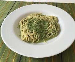 Spaghetti mit Mangold