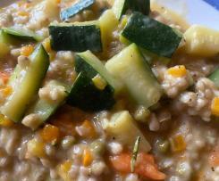 Buchweizen-Gemüse-Risotto