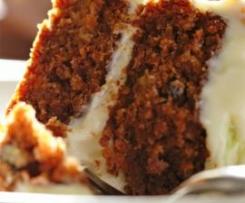 Original Carrot Cake mit Creamcheesefrosting