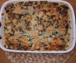 Spinat-Lasagna