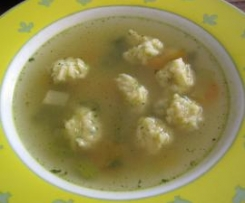 Käsenockerl/Käseklößchen als Suppeneinlage