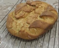 Curry - Zwiebel - Brot