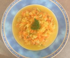 Fenchel Karotten Salat