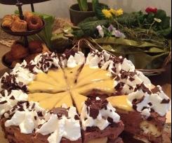 Windbeutel - Schokoladen - Torte