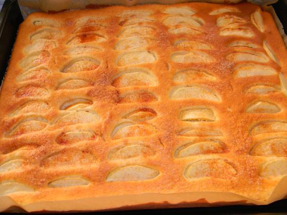 Apfelkuchen Vom Blech Von Nina83 Ein Thermomix Rezept Aus Der