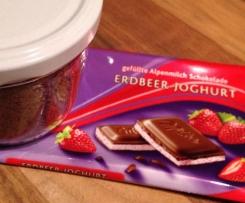 Erdbeer-Joghurt-Cappuccinopulver (ungesüßt)