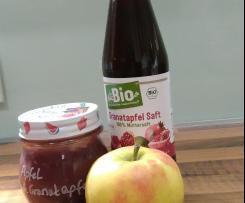 Apfel-Granatapfel Marmelade