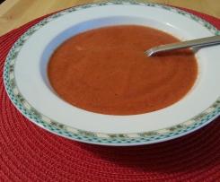Variation von Melonen-Tomaten-Suppe - heiß und kalt ein Genuß - WW geeignet