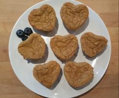 vegane Bananen-Apfel-Muffins