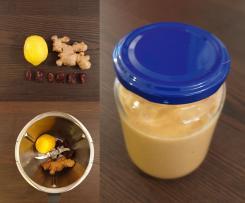 Ingwer-Zitronen-Mus
