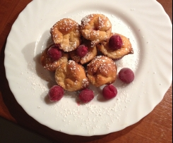 Mini Cheescakes mit Kirschen Low Carb