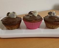 Haselnuss-Kirsch-Muffins