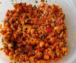 Karotten-Paprika Salat