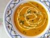 Butternut-Kürbis-Suppe ohne Alkohol, Zwiebel und Knoblauch