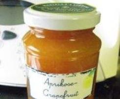 Aprikosen-Grapefruit Marmelade