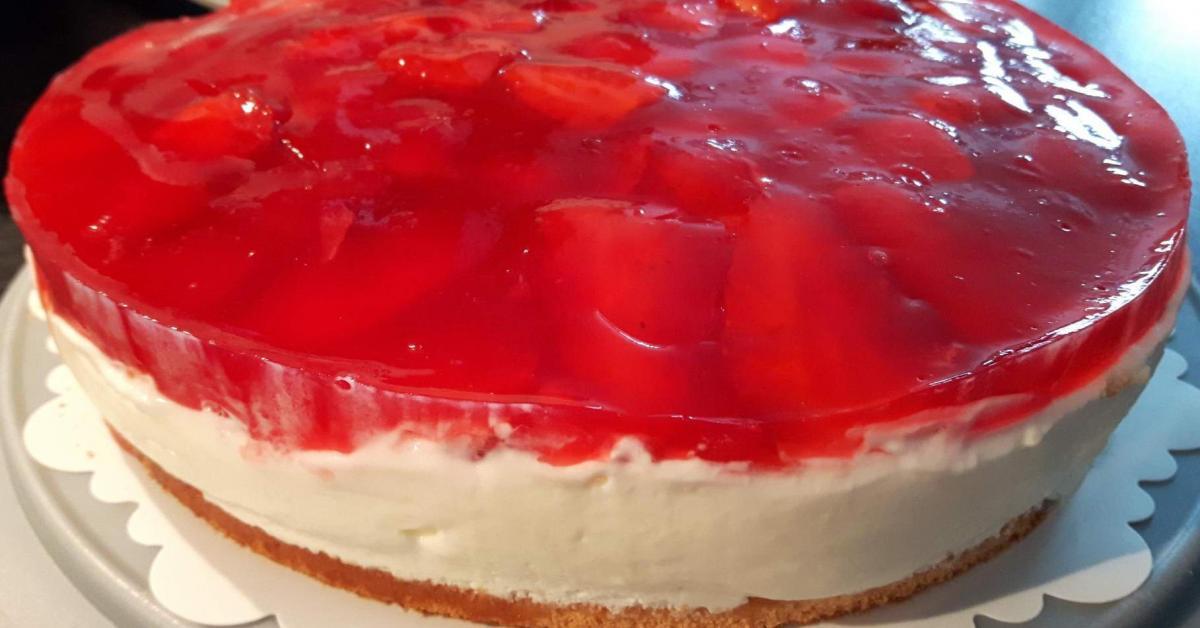 Erdbeer Quark Torte Von Sille Tm5 Ein Thermomix Rezept Aus Der