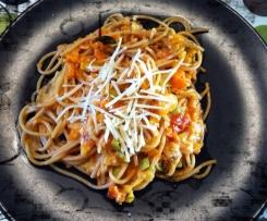 Bäuerlicher Spaghetti-Eintopf