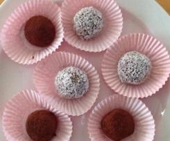 Weight Watchers Pralinen mit Schokolade und Kokos