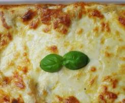Zucchini Möhren Lasagne