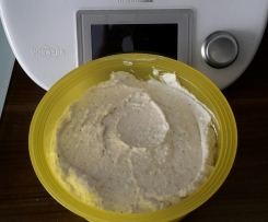 Ziebeleskäs oder weißer Käse