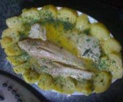 Kabeljau italienisch im Varoma mit Kartoffeln