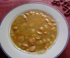Schnelle Kartoffelsuppe