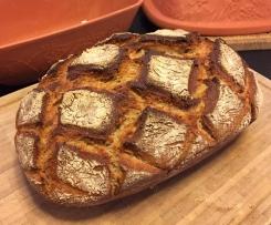 Chris' Körnerkruste - Weizen-Roggen-Mischbrot mit Körner-Saaten-Mix - Knusprig, saftig, würzig, lecker!