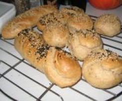 Sesam-Baguette - Sansibar - Variation