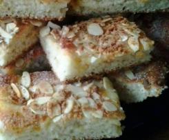 Einfacher Quark-Mandelkuchen (Butterkuchen)