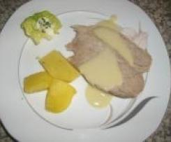 Kalbstafelspitz mit Meerrettichsauce und Kartoffeln (Sansibar Kochbuch)