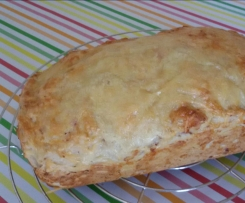 Käse-Schinken-Brot mit der 1,8 l-Ultra von Tupperware