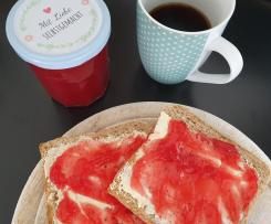 Johannisbeer-Stachelbeere Marmelade (ohne Kerne)