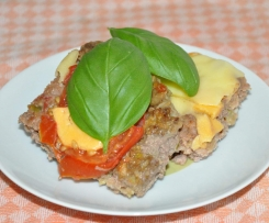 Hackfleischpizza von Oma