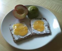 Pfirsich-Mango-Limetten Konfitüre