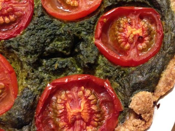 vegane tomaten spinat quiche von aguse23 ein thermomix rezept aus der kategorie. Black Bedroom Furniture Sets. Home Design Ideas