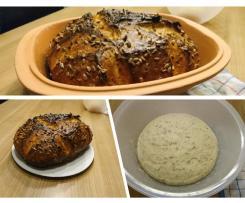 Dinkel-Sonnenblumenkern-Brot