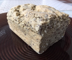 Brot mit Hafer, Leinsamen und Chia