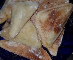 Nicoles Vanille Butterteilchen aus den Sandwitchtoaster