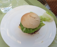 Original Burger mit Wiskey
