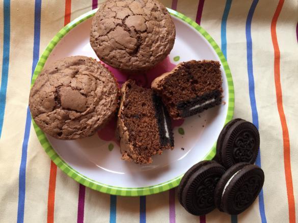 Oreo Party Muffins Super Schokoladig Von 73a37 Ein Thermomix
