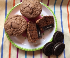 Oreo-Party-Muffins super schokoladig