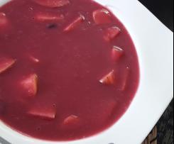 Holunderbeerensuppe