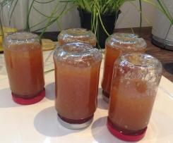 Pfirsich-Zitronen-Maracuja-Marmelade
