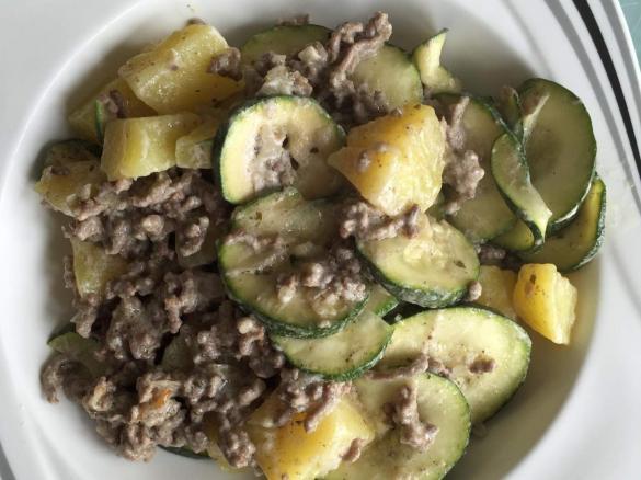 Rezepte mit zucchini hackfleisch und kartoffeln