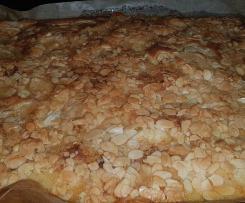 Apfelkuchen mit Mandelkruste