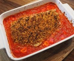 Tomatenkruste fürs Fischfilet